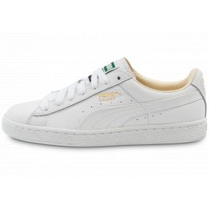 Puma Basket Classic LFS - Sneakers Basses - Mixte Adulte - Blanc (White/White 17) - 35.5 EU (3 UK)