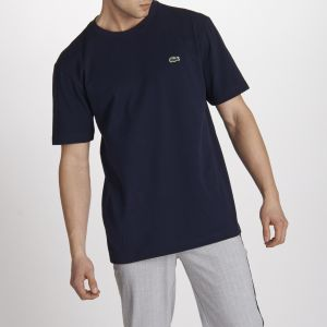Lacoste Tee Shirt Chest Logo Marine Xs Homme