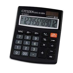 Citizen SDC-812BN - Calculatrice de table petit format