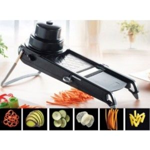 Image de De Buyer SWING PLUS - Mandoline double lame pour fruits et légumes