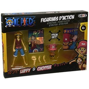 Obyz Pack figurines One Piece 12 cm Luffy et Chopper