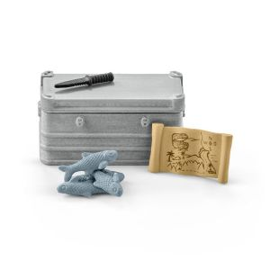 Schleich 42357 - Accessoires pour figurines Wild Life : Équipement de bateau