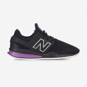 New Balance Homme Ms247to Noir Et Violet Baskets
