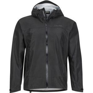 Marmot Veste de pluie Eclipse Homme, Hardshell, Coupe Vent, Respirant, Black, FR : M (Taille Fabricant : M)