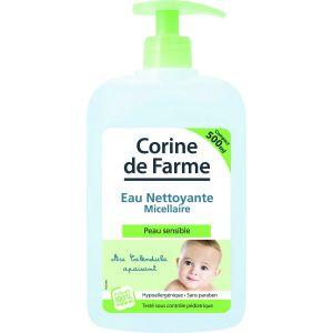Corine de Farme Eau nettoyante micellaire bébé au calendula bio