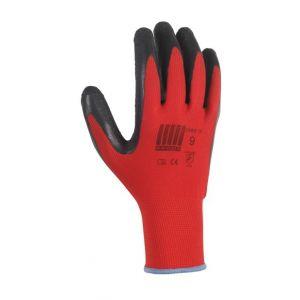 Image de Paire de gants pour la pose de gazon synthétique tricoté 100% polyester lycra