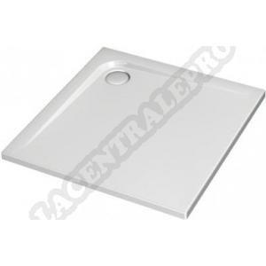 Ideal Standard Receveur à poser ou à encastrer Ultraflat 100x100 cm Acrylique Blanc K517401