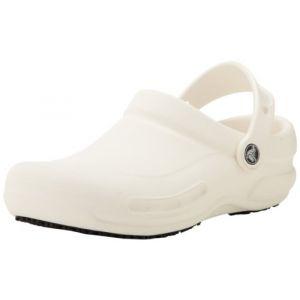 Crocs Bistro, Sabots Mixte Adulte, Blanc (White), 45-46 EU