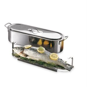 Baumalu Poissonnière induction Elo 60 cm en inox compatible tous feux dont induction