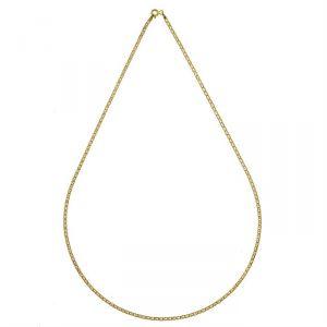 Rêve de diamants CDMC415 - Collier marine plat de 50 cm en or jaune 375/1000