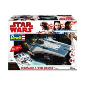 Revell Build & Play 06762 - Star Wars Episode VIII - Resistance A-Wing Fighter Bleu