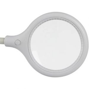 Perel Lampe-loupe led avec pince - 5 dioptres - 6 w - 30 leds - blanc -
