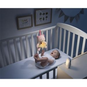 Chicco Écoute bébé audio Top First Dreams + veilleuse Petit Ourson First Dreams - Rose
