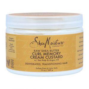 Shea Moisture Curl memory cream custard