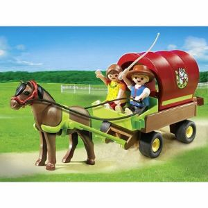 Playmobil 5228 Country - Enfants et chariot