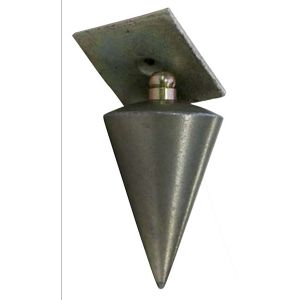 Taliaplast 420411 - Plomb d'architecte de 500g livré sans cordon
