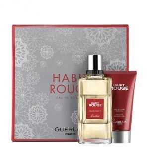Guerlain Habit Rouge - Coffret eau de toilette et gel douche