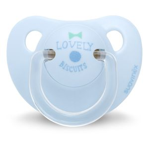 Suavinex Sucette silicone physio Lovely Biscuit 0/6 mois