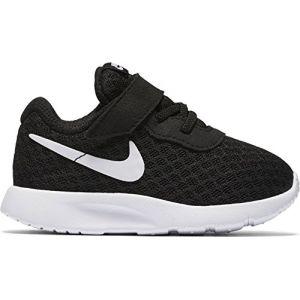 Nike Tanjun (TDV), Chaussures Premiers Pas pour Bébé (Garçon), Noir (Black/White-White), 18.5 EU