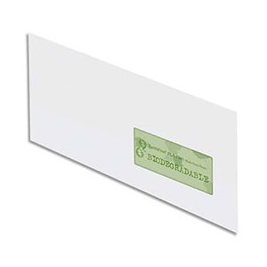 Oxford Boîte de 500 envelopppes Green Stamp DL 11 x 22 cm (90 g)