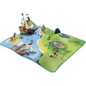 Playmobil Plaid polaire carré (90 x 90 cm)