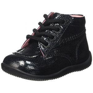 Kickers Boots BILLISTA Noir Verni - Taille 24;23;27;26;25;22;21;20;19;18