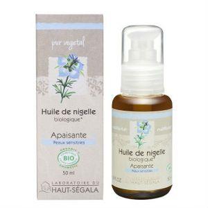 Laboratoire du Haut-Segala Les huiles végétales de nigelle vierge biologique 50 ml