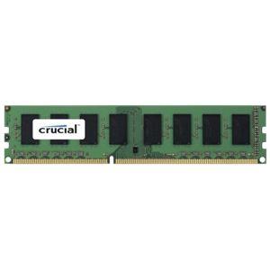 Crucial CT8G3ERVLD8160B - Barrette mémoire 8 Go DDR3 1600 MHz CL11 ECC Registered DR X8