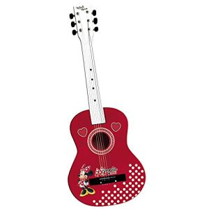 Reig Musicales 5255 - Guitare en bois Minnie Color 65 cm