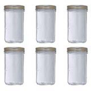 Le Parfait 6 bocaux Familia Wiss en verre (1 kg)