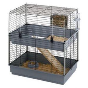 Ferplast Cavie 80 Double - Cage double pour rongeurs