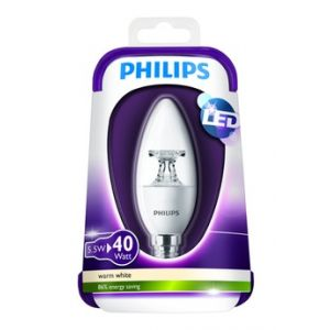 Philips Ampoule LED Flamme 40W E14 WW 230V B39 CL Dimmab