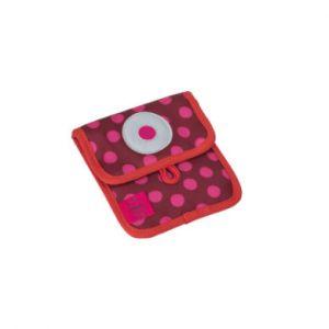 Lässig 4Kids Porte-monnaie Mini Neck Pouch - Dottie red rose/rose vif