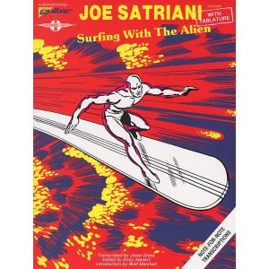 Cherry Lane Satriani J. - Surfing With The Alien - Tab
