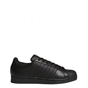 Adidas Originals Superstar Foundation, Baskets Basses homme, Noir