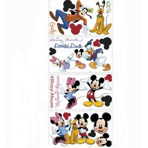 ROOMMATES 30 stickers muraux repositionnables Mickey