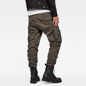 G-Star Raw RAW Rovic Zip 3D Straight Tapered Pantalon, Gris (GS Grey 5126-1260), 36W / 32L Homme