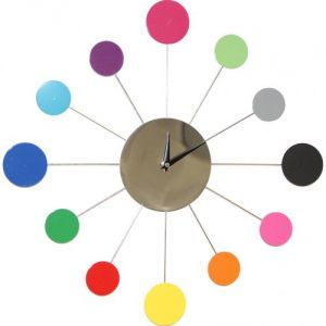 Nénuphar - Horloge murale inspirée Karlsson