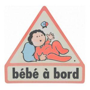 Sticker auto Bébé à bord électrostatique