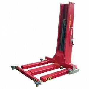 Werther Pont élévateur mobile mono-colonne électrohydraulique 2,5 t MM25