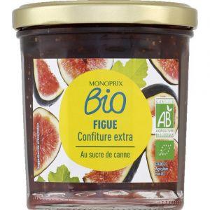 Monoprix Bio Confiture extra de figue au sucre de canne bio