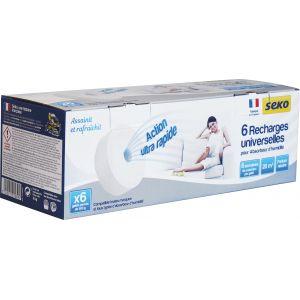 Seko Absorbeur d'humidité médium recharge neutre 6