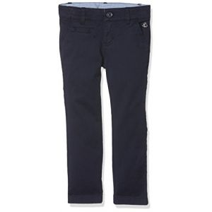Petit Bateau Pantalon, Bleu (Smoking), 6 Ans (Taille Fabricant: 6A) Fille
