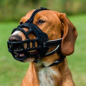 Trixie Muselière muzzle flex, silicone - S, noir