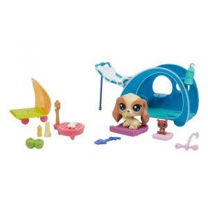 Littlest PetShop Mini Set - Camping Cozy