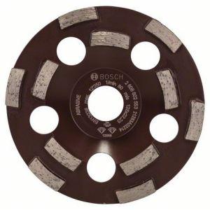 Bosch 2608602553 - Meule assiette diamantée Expert for Abrasive, 50 g/mm 125 x 22,23 x 4,5 mm