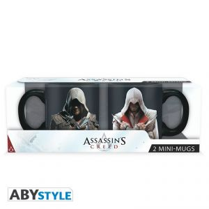 Abystyle Set 2 mini-mugs Ezio & Edward Assassin's Creed