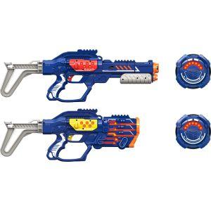 Silverlit Coffret de 2 blasters - Lazer M.A.D Extreme Advance Battle OPS X