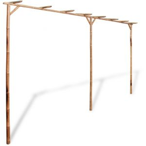 VidaXL Pergola en bambou 4 x 2 m