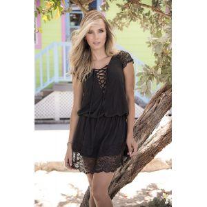 Mapalé Nuisette Dress black 4993